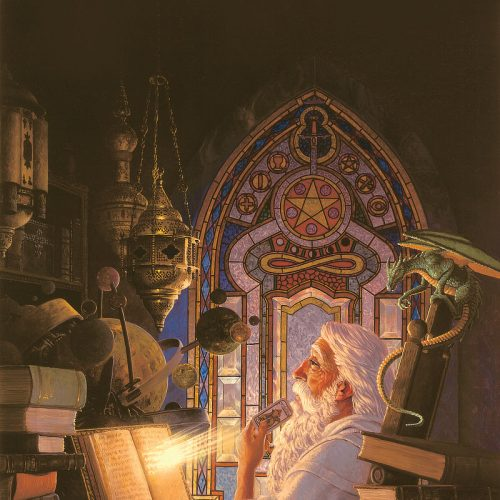 The Wizard's Study