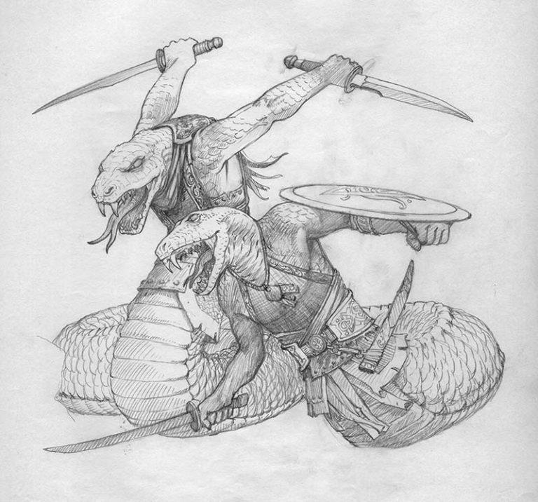 EQ - Sketch 277 - Keith Parkinson