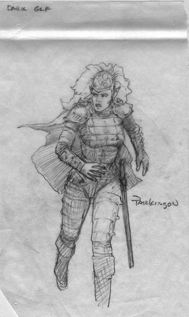 EQ - Sketch 108 - Keith Parkinson