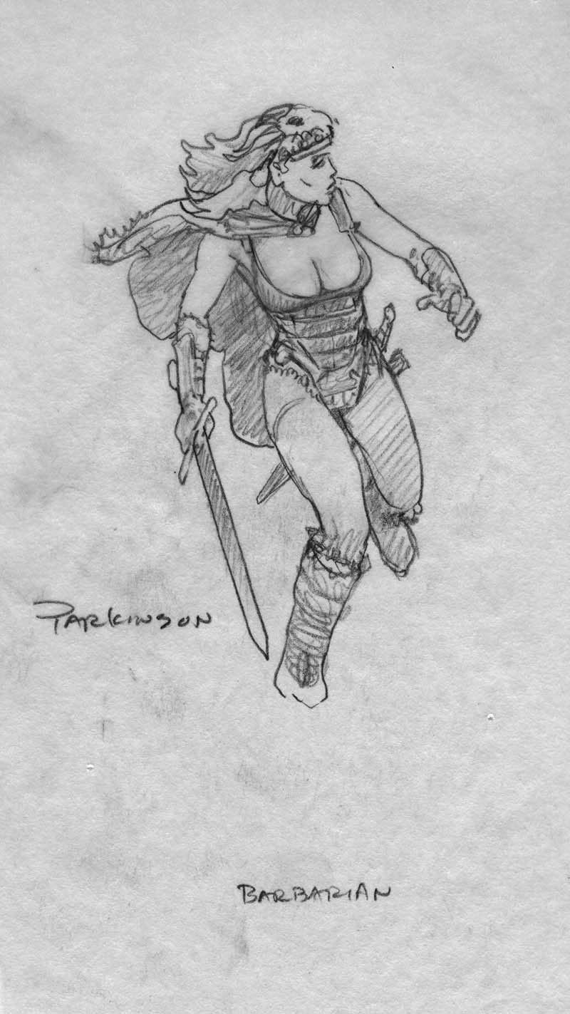 EQ - Sketch 656 - Keith Parkinson