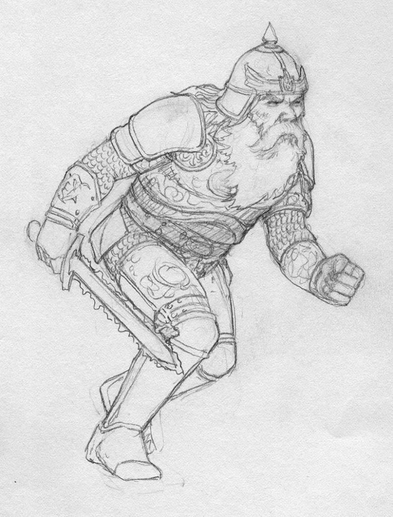 EQ - Sketch 278 - Keith Parkinson