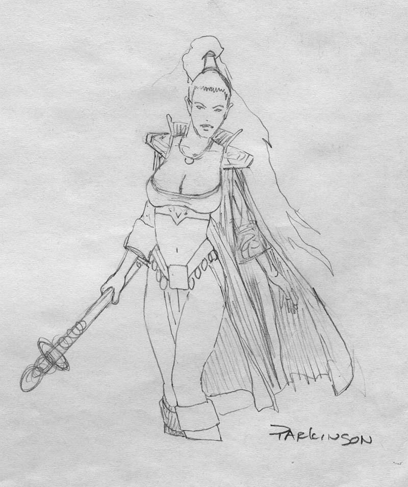 EQ - Sketch 099 - Keith Parkinson