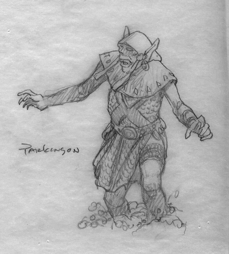 EQ - Sketch 098 - Keith Parkinson