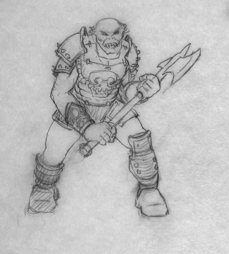EQ -Sketch 241 - Keith Parkinson