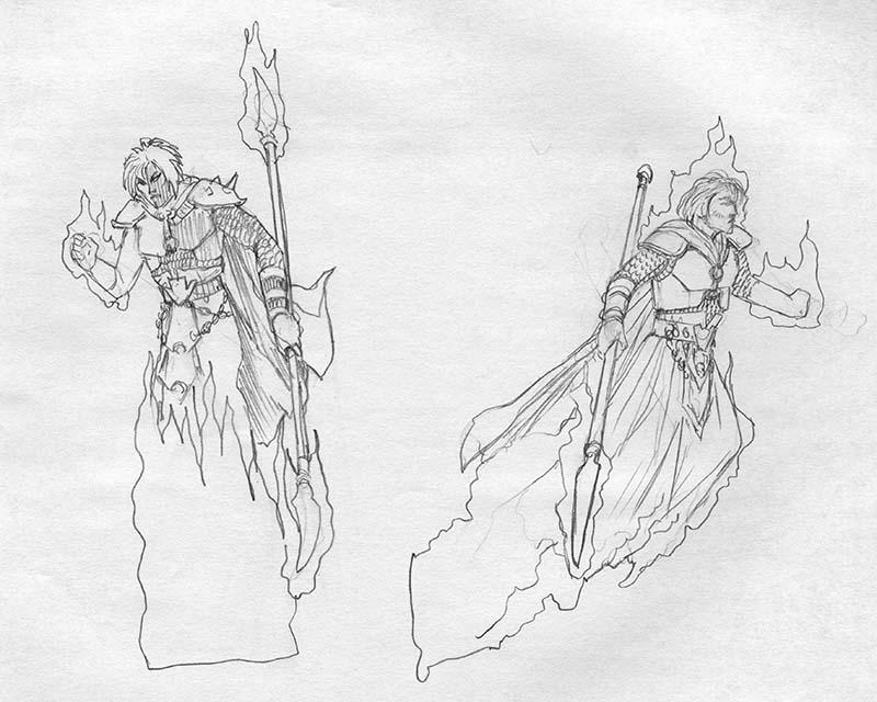 EQ - Sketch 097 - Keith Parkinson