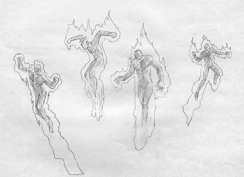 EQ Sketch 291 - Keith Parkinson