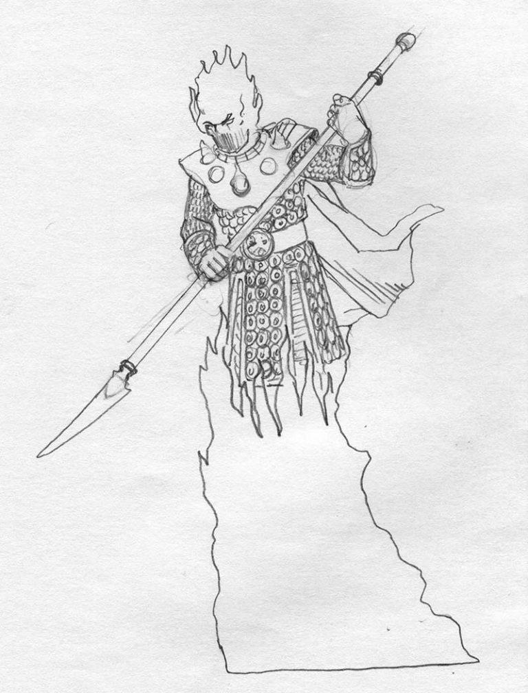 EQ - Sketch 104 - Keith Parkinson