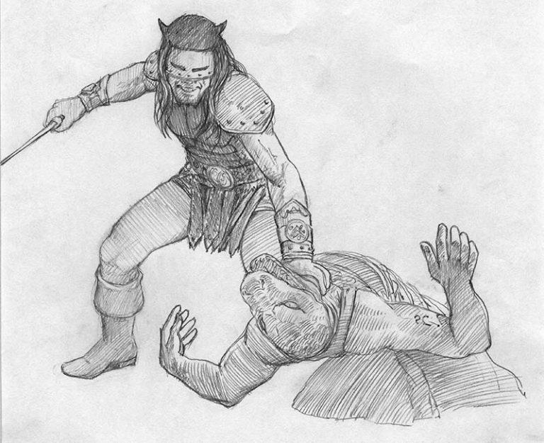 EQ - Sketch 511 - Keith Parkinson