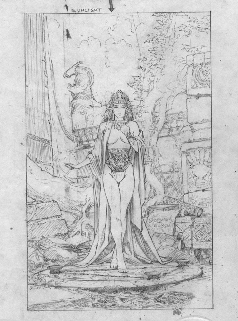 EQ - Sketch 725 - Keith Parkinson