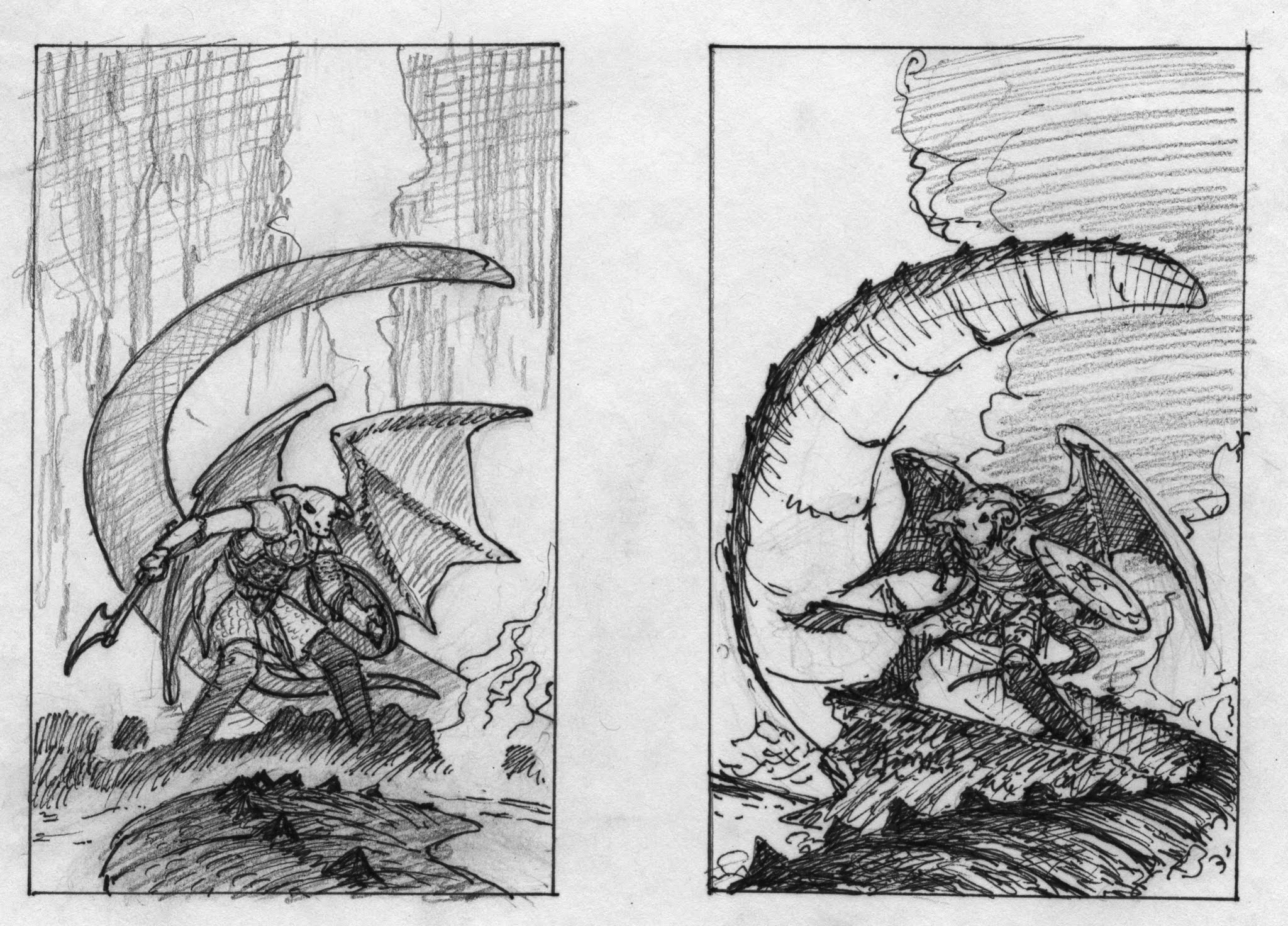 EQ - Sketch 288 - Keith Parkinson